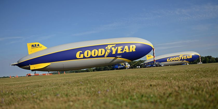 two airships ground goodyear 840